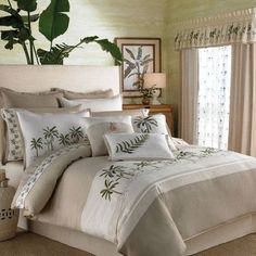 there are some terrific ideas here to decorate your bedroom with a tropical theme youll find tropical bedding sets sheets figurines and so. beautiful ideas. Home Design Ideas