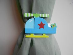 Hey, I found this really awesome Etsy listing at https://www.etsy.com/listing/161390331/helicopter-curtain-tie-backs-nursery