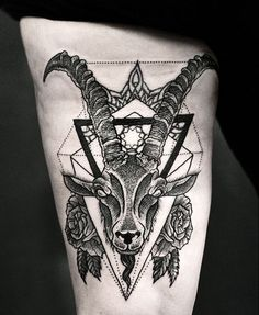 capricorn tattoo