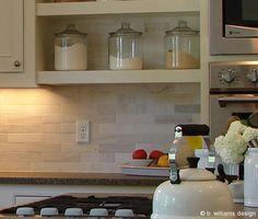 b.williams design - Bettini Kitchen Backsplash