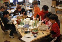 The Compass School - A Reggio Emilia- Inspired school website.