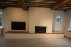Haard-TV-meubel - MTconstruct - interieurinrichting en exclusief schrijnwerk