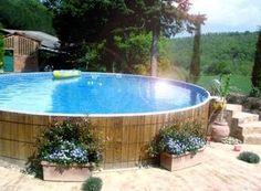 camoufler piscine hors sol