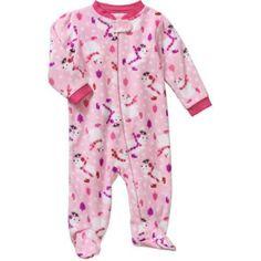 Holiday Newborn Baby Girl Sleep N Play - Walmart.com
