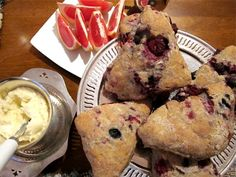 Whole wheat scones - I'm trying these for breakfast in the morning!