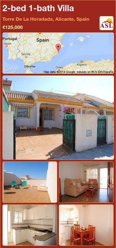 2-bed 1-bath Villa in Torre De La Horadada, Alicante, Spain ►€125,000 #PropertyForSaleInSpain
