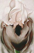 Georgia O'Keeffe Black Iris VI 1936