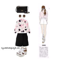 Jimin ideal girl fashion