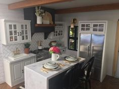 Mom's 'Fixer Upper'-Inspired Dollhouse Makeover Is So Nice, You'll Want to Live in It