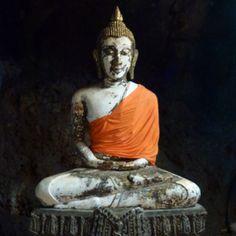 Burmese Buddha in Thailand.