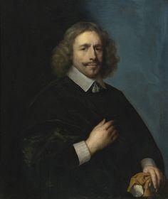 Cornelis Janssens van Ceulen (1593-1661) — Portrait of a Man,  1656 (1680x2000)
