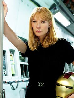 Pepper Potts hair inspiration! Ask for a strawberry blond with a combination of pink and warm gold tones.