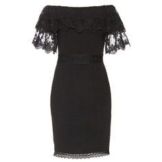 ALICE by Temperley Esmeralda Lace Off Shoulder Dress Black $360 SPECIAL  http://hollyrotic.mybigcommerce.com/alice-by-temperley-esmeralda-lace-off-shoulder-dress-black-360-special/