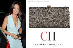 Pippa Middleton Carolina Herrera Goldie Clutch. Pippa Middleton Style, Ch Carolina Herrera, Undercover, Royalty, Michael Kors, News, Bag, Fashion, Royals