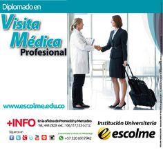 @Escolmeeduco ¡Prepárate en Visita Médica Profesional con nosotros!