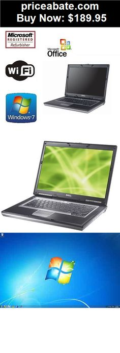 Computers-Tablets-And-Networking: Fast Dell Latitude Laptop Computer 4GB 500GB Intel Dual Core Windows 7 WiFi DVD - BUY IT NOW ONLY $189.95