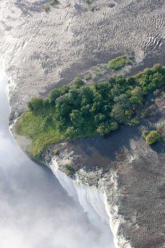Devils Pool Victoria Falls Zambia Livingstone Island