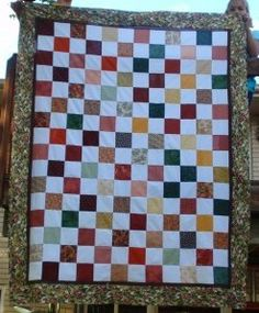 Charming Checkerboard Quilt