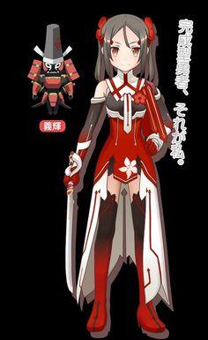 Karin in Yuki Yuna is a hero