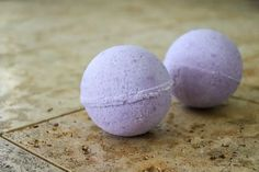 Relaxing DIY Lavender Bath Bombs made with all natural ingredients for an indulgent, relaxing, and fragrant bath when you're craving self-care.
