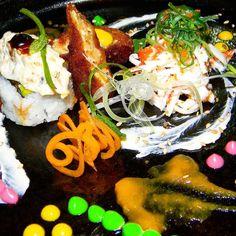 Senzay moriawase: plato de aperitivos japoneses en esta versión algo más tropical y venezolanizado.  A lo largo del 2016 vamos a estar investigando capacitando y difundiendo la comida japonesa por Venezuela y tendremos una variantes que es la de elaborar comida japonesa con ingredientes 100% Venezolanos y estaremos usando materia prima japonesa que se podrá usar en la cocina venezolana campaña que dará mucho de que hablar por lo exótico innovador y arriesgado de los productos que se van a…