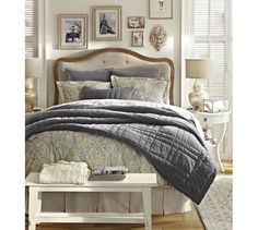Gabriella Upholstered Headboard | Pottery Barn