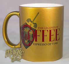 The Legend of Coffee: Espresso of Time Mug. I need it...