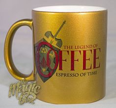 Bahaha! The Legend of Coffee: Espresso of Time