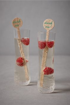 perfect for cocktails    Drink Me Drink Stirrers (set of 12) from BHLDN $18