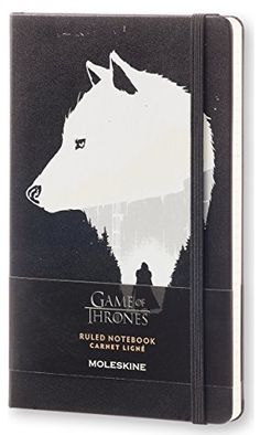 Moleskine Game of Thrones Limited Edition Notebook, Large, Ruled, Black, Hard Cover (5 x 8.25) http://www.newlimitededition.com/moleskine-game-of-thrones-limited-edition-notebook-large-ruled-black-hard-cover-5-x-8-25/