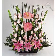 Floreria - Flores Elegantes de Mexico arreglo floral elegante