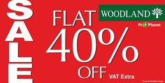 Woodland brings you FLAT 40% OFF! T&c Woodland For more offers check out www.ilovesales.co.in