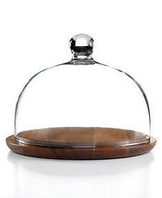 The Cellar Serveware, Acacia Wood Cheese Dome - Serveware - Dining & Entertaining - Macy's