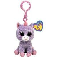 d518ecddb48 Ty Beanie Boos - Rainbow The Unicorn Clip Plush Unicorn Birthday Parties