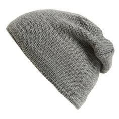 The Rail Fleece Lined Beanie (28 SAR) ❤ liked on Polyvore featuring men's fashion, men's accessories, men's hats, men and grey heather