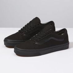Browse bestselling Shoes at Vans including Men's Classics, Slip-On, Surf, BMX, Pro Skate Shoes and Sandals. Shop at Vans today! All Black Shoes, All Black Sneakers, Black School Shoes, Black Casual Shoes, Black Work Shoes Women, Vans Classic Black, Vegan Sneakers, Casual Sneakers, Vans Shoes Old Skool