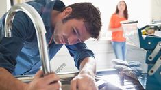 If you have a plumbing emergency at home, you should quickly find a professional plumber who is qualified to fix the problem. Here are some ways to find a plumber: Zen, Home Equity Line, Low Water Pressure, Was Ist Pinterest, Home Improvement Loans, Selling Your House, Home Repairs, Leroy Merlin, Stock Foto