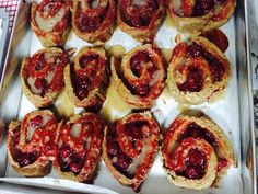 Cranberry/cherry cinnamon roll   #EatGood4Life