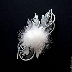 Piel Natural, Hobbit, Dandelion, Feather, Pendants, Beads, Flowers, Jewelry, Shibori