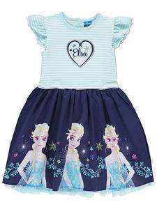 Disney Store Frozen Anna Elsa Yellow Knitted Dress Tunic Skirt Girl Size 5//6