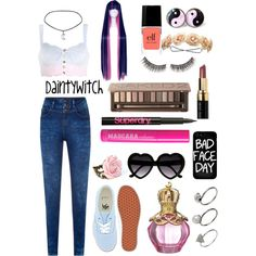 """""""It is the end of days, and I am the Reaper""""   #polyvore #girly #preppy #prettypastels #pretty #pastel #softgrunge #grunge #tumblr  #edgy #punk #nugoth #gothgoth"""