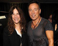 Bruce and Patti Smith
