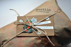 New Year's gift wrapping at Nastiin Handmade studio
