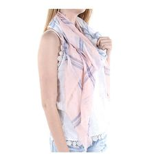 Women's Pink & Blue Plaid Sheer Woven Frayed Edge Scarf    Style No: RI_CDF16004PNK  Frayed Edge / Plaid / /Sheer / Woven / Scarf   76 Iinch Long X 34 Inch Wide  65% Polyester 35% Viscose    Shop more of our designs - https://www.etsy.com/shop/3StoresDown  Policies & shipping info - http://www.etsy.com/shop/3StoresDown/policy    All designs & content © .......3StoresDown..... | Shop this product here: http://spreesy.com/3StoresDown/1324 | Shop all of our products at…