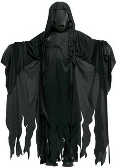 Our Harry Potter Dementor Boys Costume will be a hit at any Halloween party or trick-or-treating adventure. Everyone will rave about this Harry Potter Costume, which is the perfect costume for any Halloween event. The Harry Potter Dementor costume includes, mask and robe with chest piece. Additional Harry Potter costumes and accessories are available and sold separately.