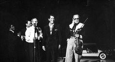Sammy Davis Jr., Frank Sinatra, George Burns, Dean Martin & Jack Benny