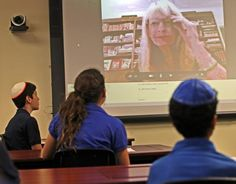 Middle schoolers Skyping with authors? Now that's a novel idea!
