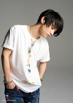 SKY-HI-GALLERY|Tシャツブランド rockin'star★(ロッキンスター)公式サイト Sky Hi, Japanese, Poses, James Dean, Mens Tops, T Shirt, Rapper, Band, Girls