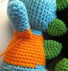 Tips for Attaching Amigurumi Limbs |Just B Crafty