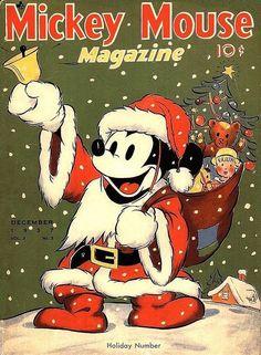 Vintage Christmas❤️  Mickey